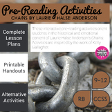 Chains Pre-Reading Activities & Lesson Plans