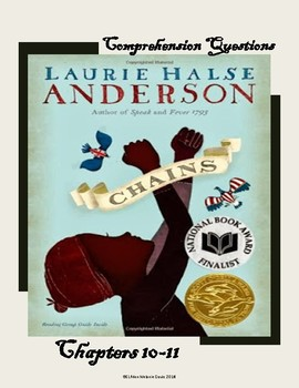 Chains by Laurie Halse Anderson/ Chapter 10-11 Comprehension Questions