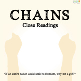 Chains by Laurie Halse Anderson: Fiction Close Readings, G