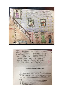 Chains by Laurie Halse Anderson Figurative Language Activity with Examples
