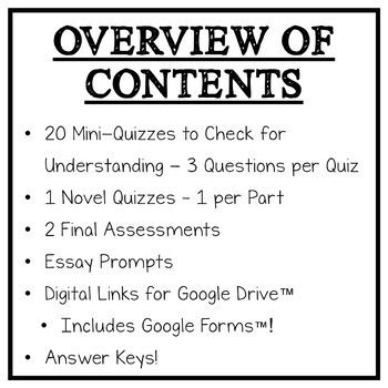 Chains by Laurie Halse Anderson: Quizzes, Tests, Essays - Assessment Pack!