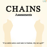 Chains by Laurie Halse Anderson: Quizzes, Tests, Essays -
