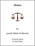 Chains by Laurie Halse Anderson - (Reed Novel Studies)