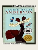 Chains by Laurie Halse Anderson/ Vocabulary Crossword Puzz