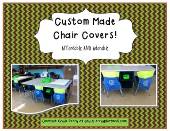 Chair Covers for Classroom Decor!