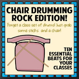 Chair Drumming - Rock Edition