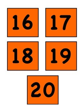 Chair Numbers