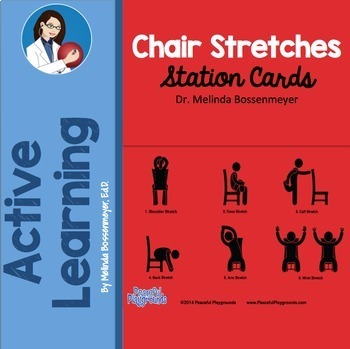 Chair Stretches Posters