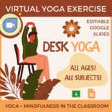 Chair Yoga Activity for Google Slides: Improve Focus & Red