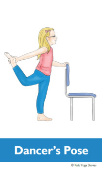 Chair Yoga Cards for Kids