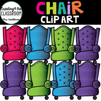 Chairs Clip Art {Chair Clip Art}