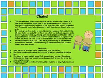 Chairs! Ti-tika/Tika-Ti