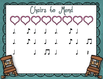 Chairs to Mend: English Song and Activities for Tom Ti and Fa