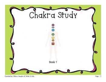 Chakra Colors Study Packet for Kids