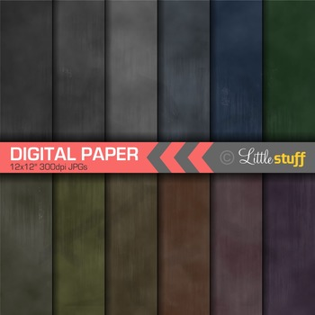 Chalkboard Digital Paper, Chalk Digital Paper Pack, Chalkboard Backgrounds