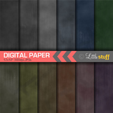 Chalkboard Digital Paper, Chalk Digital Paper Pack, Chalkb