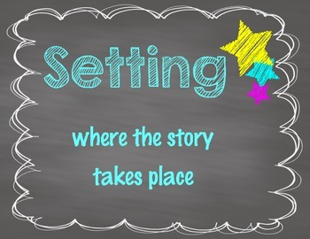 Chalboard Story Elements