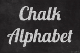 Chalk Alphabet Clip Art 81 PNG Images Letters Numbers with