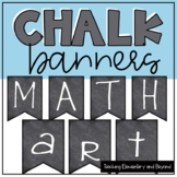 Chalk Alphabet Banners for Bulletin Board Displays