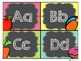 Chalk Board Bright Word Wall Headers