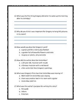 Chalk Box Kid Ch. 1 & 2 Quiz