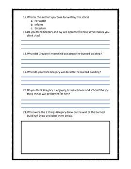 Chalk Box Kid Ch. 3 & 4 Quiz