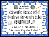 The Chalk Box Kid   Paint Brush Kid BUNDLE (Clyde Robert Bulla) 2 Novel Studies