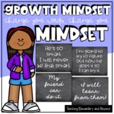 Chalk Change Your Words, Change Your Mindset Posters