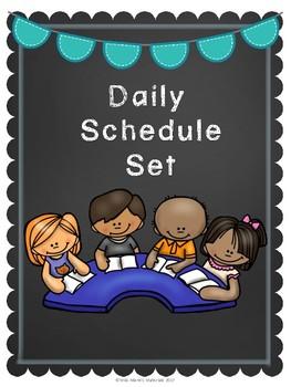 Chalk Daily Schedule
