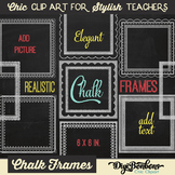 Chic Chalk Frames - Square - for Commercial Use