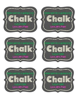 Back to School Editable Stickers