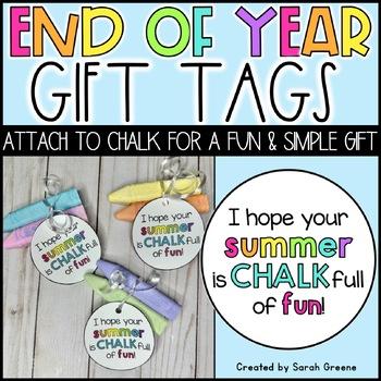Chalk Full of Fun! {gift tag}