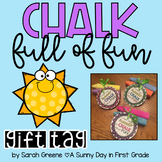 End of Year Chalk Gift Tag
