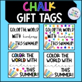 Chalk Gift Tags FREEBIE