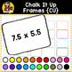 Chalk It Up {Clipart Frames for CU}