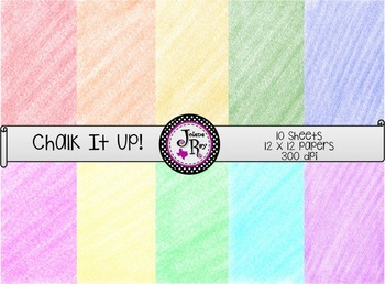 """""""Chalk It Up!"""" - Digital Papers"""