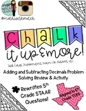 Chalk It Up & More Review (Add & Subtract Decimals!)