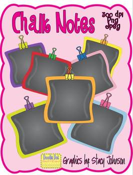 Chalk Notes - Graphics for Commercial Use