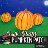 Chalk Pastel Pumpkin Patch Art Lesson