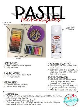 Chalk Pastel Worksheet