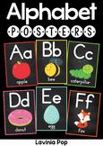 Classroom Chalkboard Posters Alphabet