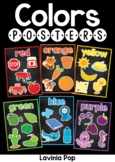 Classroom Chalkboard Posters Colors