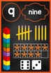 Number Posters 0-30 Chalkboard