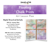 Chalk Prints Lesson Plan (Art, Science, Printmaking) - Gor