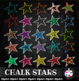 Chalk Star Symbol Clip Art