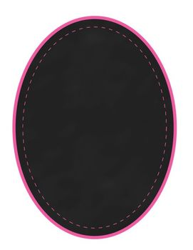 Chalk & Stitch Oval Chalkboard Frames Clip Art Set of 8 {Ice Cream Shoppe}