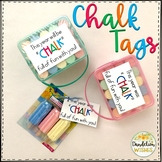 Chalk Tags - Back to School or End of Year Gift Tag