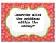 Fiction Text CHALK TALK  Discussion Questions set