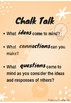 Visible Thinking Routine: Chalk Talk Resource Pack
