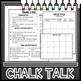 Chalk Talk Task Cards Mega Bundle